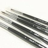 Haodental 5pcs/set Dental Porcelain Brush Pen Dental Lab Equipment New