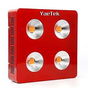 Amazon Com Yaetek 800w 1200w 1800w Full Spectrum Cob Led Grow Light System Panel Lamp Indoor