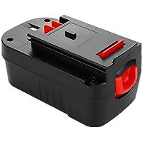 Topbatt 18V 3.0Ah Ni-MH-vervanging voor Black and Decker-batterij A18 A1718 A18NH A18E HPB18 HPB18-OPE HPB18-OPE2 244760…