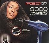 RED PRO Kiss 3300 Titanium Detangler AC Dryer For Sale