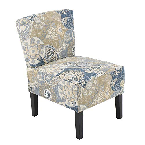 THKSBOUGHT Accent Chair Armless Living Room Bedroom Cloth Art Single Person Recreational Chair