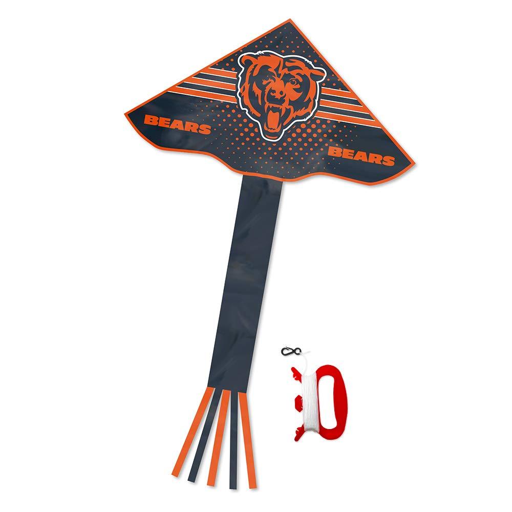 NFL Chicago BearsデルタスタイルKite、ブルー、50