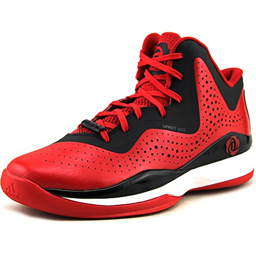 adidas D Rose 773 III hombres Basketball zapatos 11 blanco-negro - Scarlet-Black-White