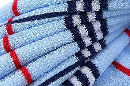 40 Azur/é duchuanjiang Serviette De Bain /À Carreaux De Sport Positif Et N/égatif 32 Actions Supermarch/é Shopping Mall Cadeau Eau Absorbante Douce 40 X 90 90