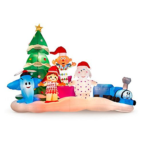 Rudolph The Rednose Reindeer Island of Misfit Toys Christmas Inflatable by Spook Shack (Image #1)