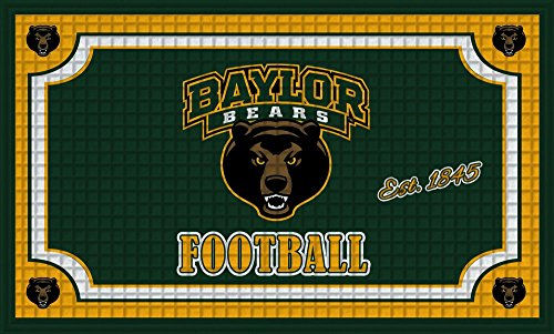 Team Sports America 41EM925, Baylor University Embossed Door Mat, Multicolor