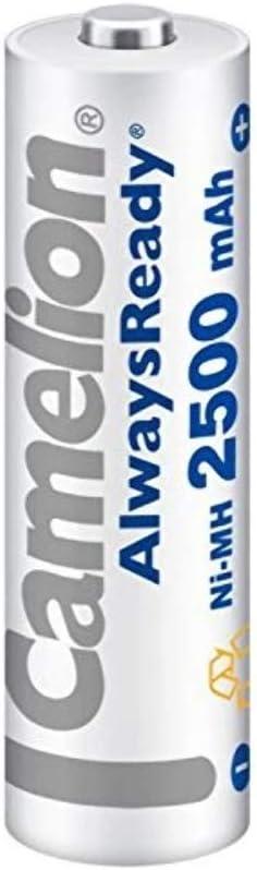 bl/íster de 2 acumuladores R20, tipo D, 2500 mAh Camelion 17025220 Pilas recargables