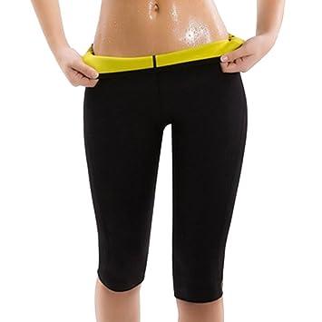 b8b95e9d4b Legging Short de Sudation Amincissant Femmes Minceur en Néoprène Sweat Body  Shapers Fitness