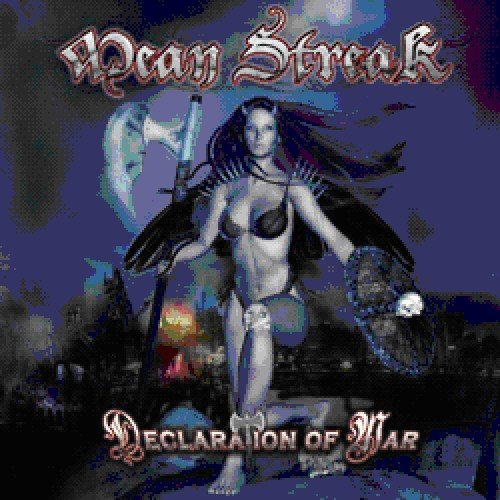 CD : Mean Streak - Declaration Of War (CD)
