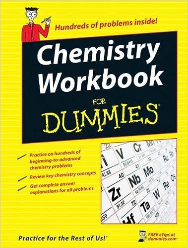 Chemistry Workbook For Dummies Peter J Mikulecky Katherine