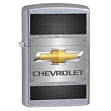 Chevy, Chevrolet on Steel - Street Chrome Zippo Lighter 78405