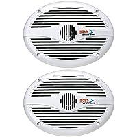 BOSS Audio MR690 350 Watt (Per Pair), 6 x 9 Inch, Full Range, 2 Way Weatherproof Marine Speakers (Sold in Pairs)