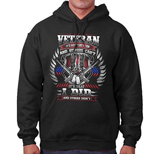 Veteran Gun Soldier Army Patriotic USA Flag Boots 4th of July Hoodie by Brisco Brands