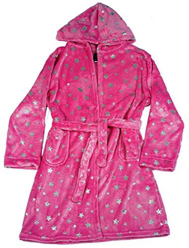 - Just Love Velour Printed Robes,Fuchsia,Girls 4