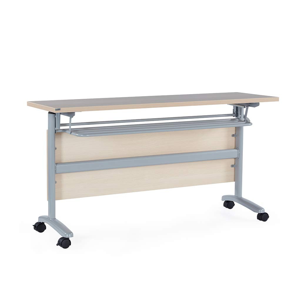 Sunon Trans Meeting Table With Book Shelf And Movable