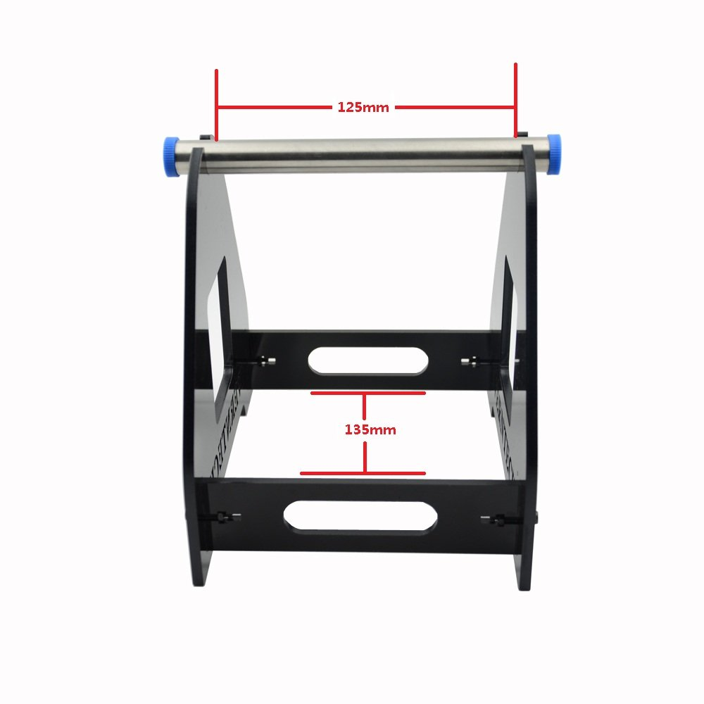 3D Printer Spool Acrylic Filament Tabletop Mount Rack ABS//PLA Frame Holder GSS