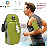 AnyTech™ Waterproof Sport Armband Unisex Running Jogging Gym Arm Band Case Cover till 5.7 inches Sports Arm Band for Android/iOS(Color may vary)