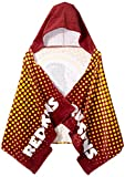 NFL Washington Redskins 22″ x 51″ Youth Hooded Beach Towel,22-Inch by 51-Inch,Red
