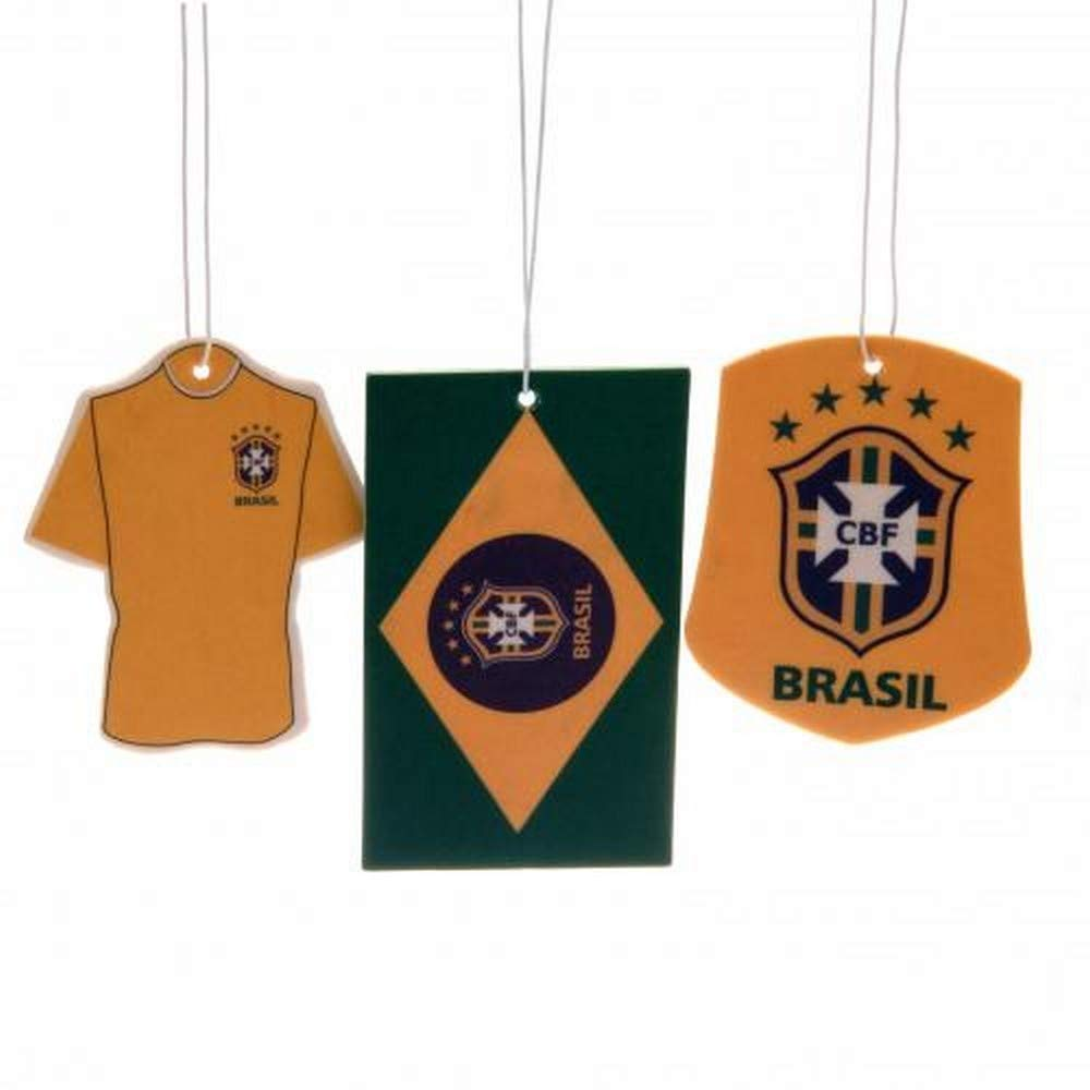 Brasil Air Fresheners (Pack Of 3) (One Size) (Yellow/Green) UTTA242_1