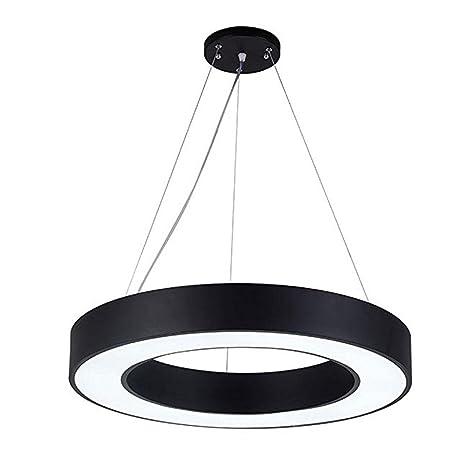 Modern Luxus - Lámpara colgante LED redondo anillo diseño ...
