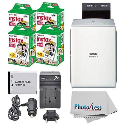 Fujifilm instax SHARE Smartphone Printer SP-2 (Silver)