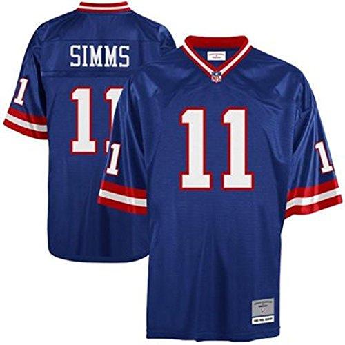 New York Giants Phil Simms Premier Throwback Mitchell Ness Replica Jersey (XXL)