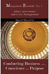 Management Essentials Vol. 1: Ethics, Governance and Crisis Management Paperback