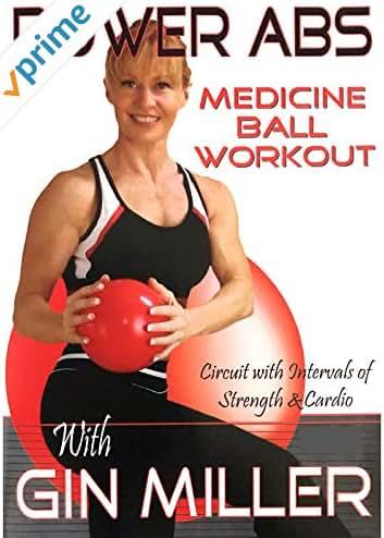 Gin Miller's Power Abs Medicine Ball Workout