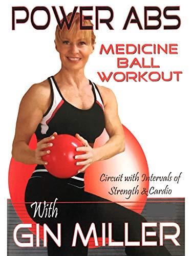 Gin Miller's Power Abs Medicine Ball - Gin Millers