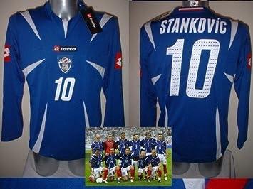 Lotto Grande de Serbia y Montenegro STANKOVIC Camiseta Jersey fútbol Inter de Milán Yugoslavia: Amazon.es: Deportes y aire libre
