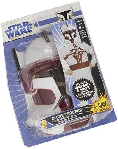 Star Wars Clone Trooper Commander Fox Action Suit (Clone Wars Commander Fox Costume)