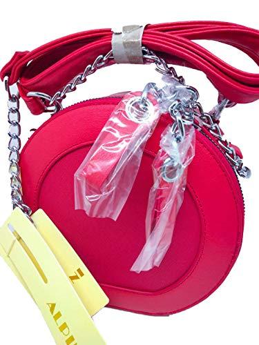 Bolso Rojo Alpini Para Cruzados Mujer f7Cxxqwndz