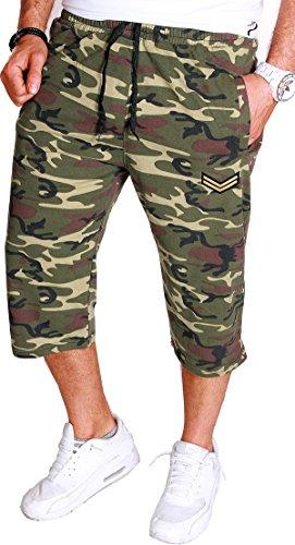 Short 099 c Bermuda Camouflage Camou 3l Armée Court Rmk Stretch 8 Homme 1 Camou Tc35lF1uJK