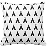 """Popular Presents 18"""" x 18"""" Teepee Decorative Throw Pillow Case Cushion Cover"""