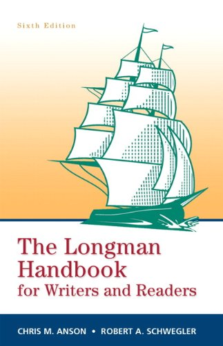 Longman Handbook for Writers and Readers, The (paperbk) (6th -