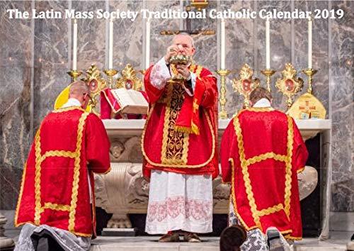 2019 Latin Mass Society Traditional Catholic Calendar (Import) ()