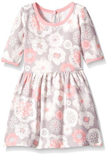 Knit Snowflake Dress (Marmellata Baby-Girls Snowflake Knit Dress, Snowflake, 12 Months)