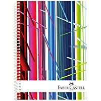 Faber-Castell 5075400309 Festival Sert Kapak Seperatörlü Defter K.Yeşil