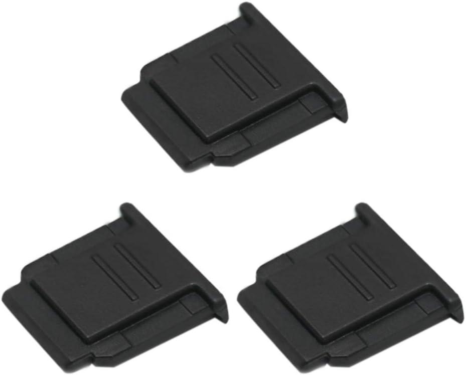 VKO Hot Shoe Cover, Hot Shoe Cap, Hot Shoe Protector Compatible with Sony A6100 A6600 A7III A6500 A6400 A6300 A6000 A77II A7II A7RII A7RIII A7RIV A7SII RX1RII RX10II RX100II Replaces FA-SHC1M(3-Pack)