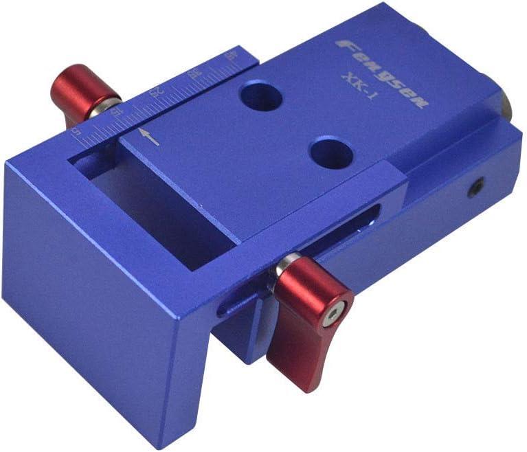 Mini Pocket Hole Drill Jig Kit W//Step Drilling Bit Woodworking Accessories