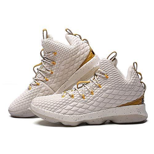 Per Da Basket Resistenti Sneakers Beige Corsa Tempo All'usura Sunnywill Sportive Uomo Antiscivolo Scarpe Libero Il YTqx5f