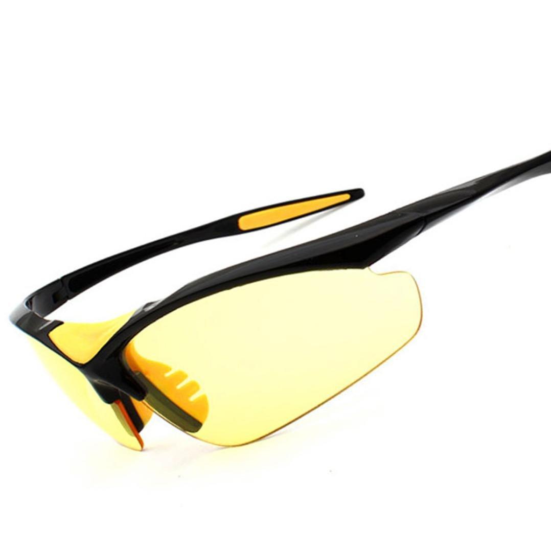 polarisées Lunettes de sport, lunettes de soleil de vélo, TR incassable Cadre, anti-buée, étanche à verres, multicolore