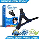 Deluxe Anti Snoring Chin Strap - Sleeping Aid - Cpap Chin Strap Snoring Solutions - W/EBOOK, How To Stop Snoring Now With These Anti Snoring Devices - A Perfect Snoring Solution For Men and Woman
