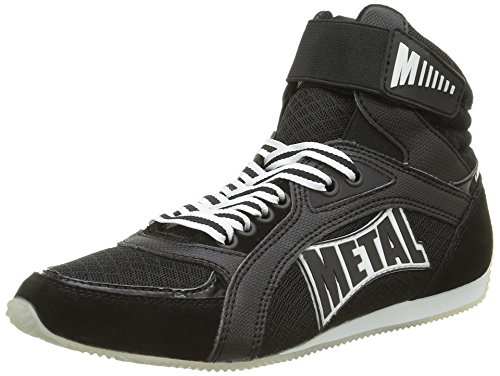 Altas Botas de Boxe Negro Metal Viper1 nbsp; negro Boxeo PqC6tIxwI