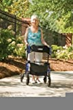 MOBILITY - HybridLX Rollator Transport Chair #LX1000B