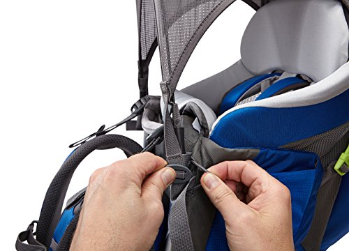 Thule Sapling Child Carrier, Slate/Cobalt by Thule (Image #20)