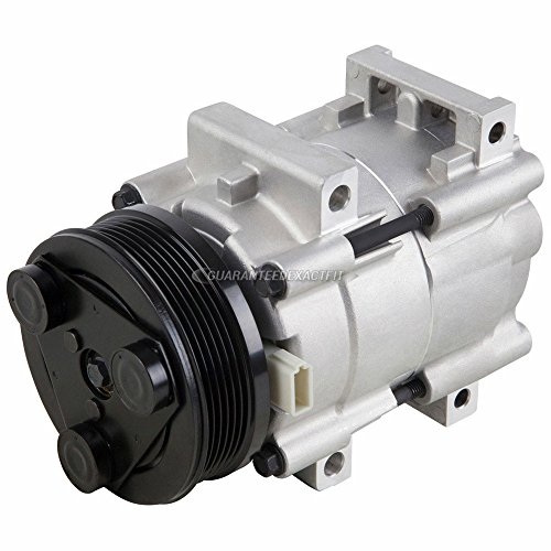 AC Compressor & A/C Clutch For Ford Taurus Mercury Sable 2001 2002 2003 2004 2005 2006 2007 - BuyAutoParts 60-01678NA - Taurus Clutch Ford