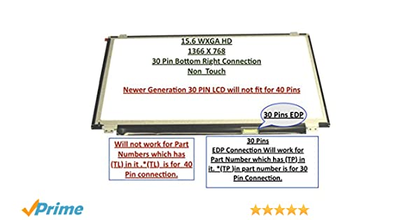 "B156XTN04.1 REPLACEMENT LAPTOP 15.6/"" LCD LED Display Screen WXGA HD"