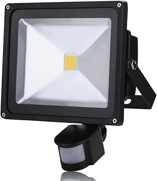 30W Foco LED con Sensor Movimiento, Proyector LED Exterior de Impermeable IP65,Iluminación LED de Exterior y Seguridad, Luz LED para Patio Jardín(Blanco Calido): Amazon.es: Iluminación