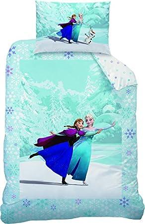 Disney Frozen Parure De Lit 110 X 140 Parure De Lit Enfant 100